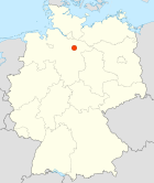 Wriedel-Germany location map